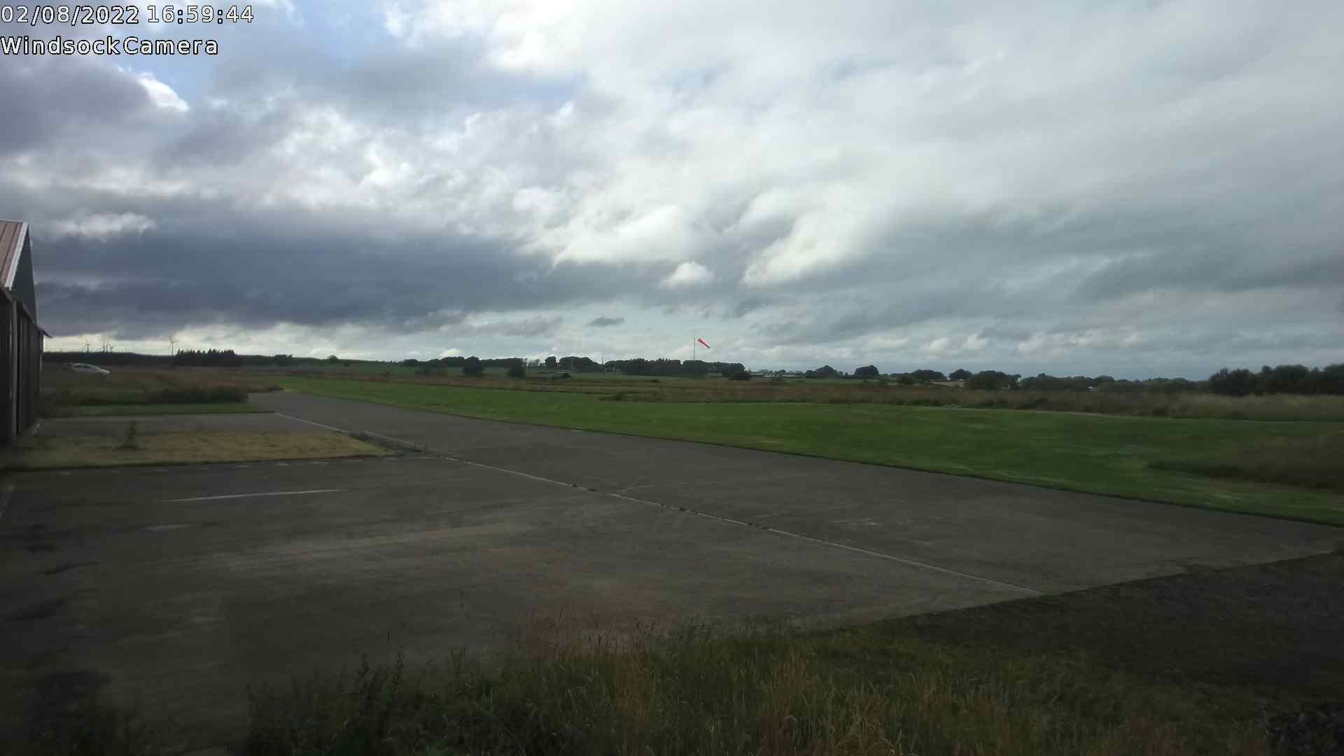 Latest snapshot of the Strathaven Airfield windsock